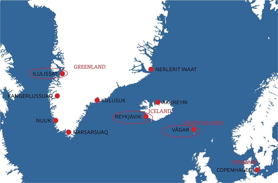 Tours To Iceland And Greenland Round Trip Greenland
