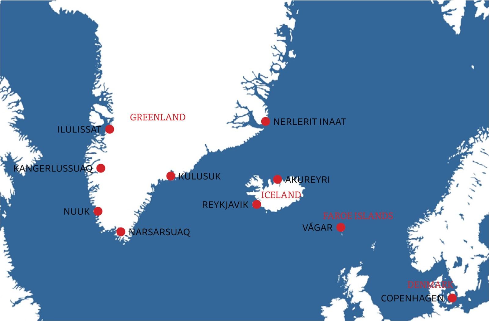 Rejse Til Island Faeroerne Og Gronland Rundrejser Gronland